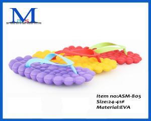 China 2014 women Flip Flops summer cheap EVA ladies flat slippers ASM-805 on sale