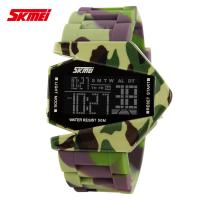 China Airplane Model Boys And Girls Fashion LCD Analog Watch Colorful on sale