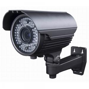 China 20M IR Day Night Vision Network CCTV Camera , Black IP Outdoor Security Camera Waterproof on sale