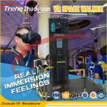 China Video Game Head Tracking VR Space Walk Simulator With Interactive Platform wholesale