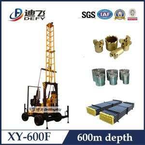 China XY-600F Core Rotary Drilling Rig for 600 Meters on sale
