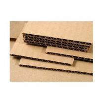 Wood Pulp Corrugated Card Sheets 3.0mm Thickness Grey Color Anti - Collision