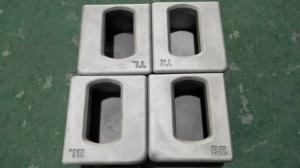 China ISO standard Aluminum  Container  corner casting for ISO containers on sale