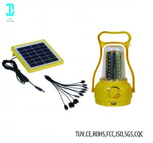 China Waterproof Solar Powered Camping Lights Solar Panel Lantern 2 Years Warranty on sale