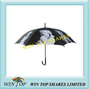 China Black-and-White Photograph Umbrella(WT5061) on sale