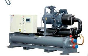 China High Power R22 Compact Package Water Cooled Screw Chiller With CE / SGS / ISO on sale