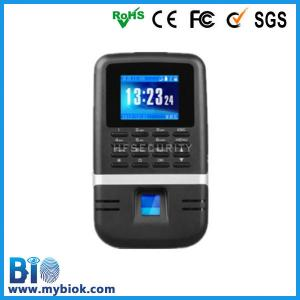 China Wifi optional track time software and Access Control device Bio200 on sale
