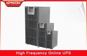 China DSP Technology High Frequency Online UPS 10-20KVA with Pure Sine Wave , Digital Control on sale