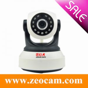 China Zeocam New HD 720P Megapixel Wireless Indoor Pan Tilt IP Camera on sale