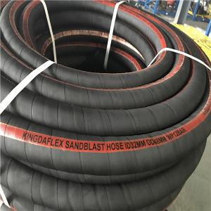 China Highly Abrasive Rubber Sandblast Hose for Tunnel Construction, Mining, Hydropower, Military Defense and Ship Building on sale