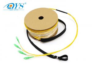 China SC/APC-SC/APC 4core Preterminated Optical Fiber Patch Cable IEC 60794-2-30 on sale