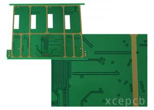 China Vias filled Rogers 4003 Multilayer PCB Boards Fabrication Half hole on sale