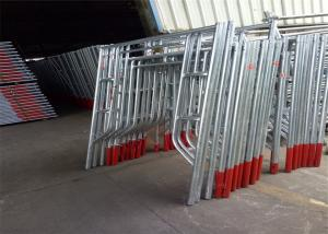 China Industrial Scaffolding Frame System Light Aluminium Scaffold Ladder Beams on sale