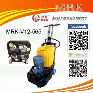 China 3 Phase Concrete Terrazzo Floor Grinding Machine 12 Heads HTC Floor Grinder on sale