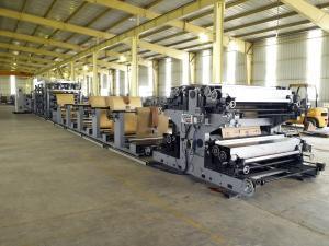 China Camadas inteligentes de Kraft da máquina 2 - 4 do saco de papel com sistema de ar comprimido on sale