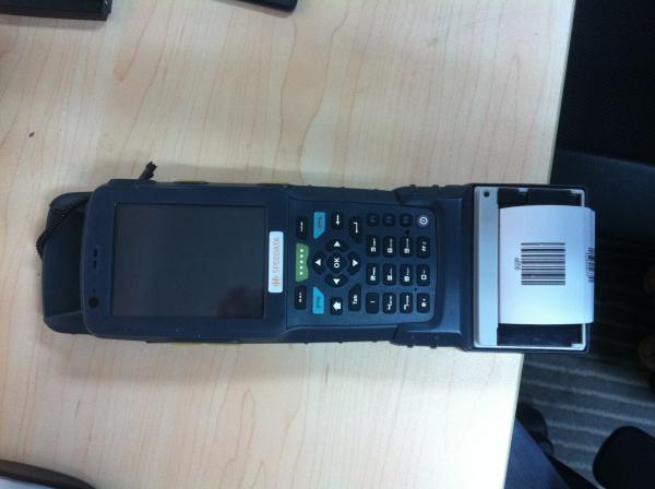 Rfid Industrial 1d 2d Symbol Pocket Pc Scanner 35inch Lcd Wcdma