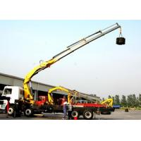 China 14 Ton Knuckle Boom Truck Crane For Transporting Heavy Things on sale