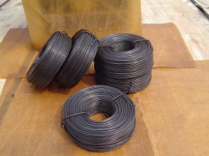 China el alambre del lazo del rebar/el alambre/el negro el atar recocieron el alambre/el alambre recocido negro del lazo/suavemente el alambre del negro on sale