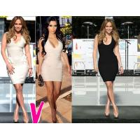 2012 New Style HL Bandage Dress Party Dresses Sexy Evening Dress for Party Drop Shipping Small Order Accept
