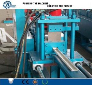 China Efficiency 0.4 - 1.2mm Metal Stud Roll Forming Machine for Light Steel Track on sale