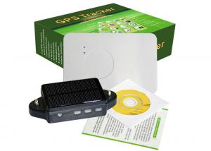 China Solar GPS Tracker Container GPS Car Alarm System Big Battery Waterproof Magnet LBS Asset on sale
