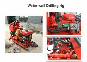 China 220V / 380V Water Well Drilling Equipment , 180m Core Drilling Machine For Mining on sale