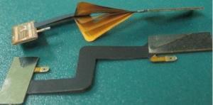 China Custom Flexible Rigid PCB Lianmao IF-2LD2535CO2 Minimum Hole 0.10mm PI Material on sale