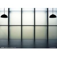 China Safety Sandblasted Frosted Glass Panels 3mm - 12mm Thickness For Doors on sale