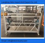 Temporary access suspended platform building cleaning electric cradle in Vietnam