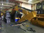 Yellow Color Crawler Excavator Road Construction Machines Low Fuel Consumption