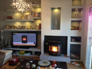 China Customized Sizes / Colors Wood Insert Fireplace With UL / EPA Certification on sale