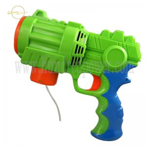 China Large Motorized Light Up Bubble Blaster Plastic Bubble Gun For Toddlers supplier