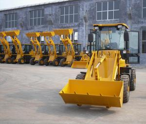 China 0.8 ton wheel loader with CE certification on sale