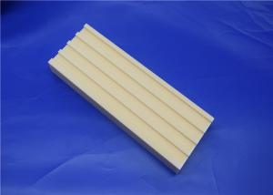 China Machinable Ceramic Block  Ceramic Mill Lining Brick Liner with Tongues and Grooves on sale