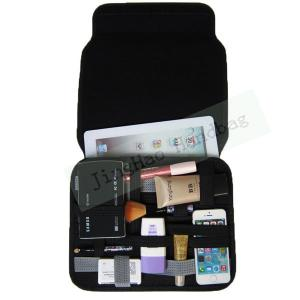 China Gadget Bag Organizer Travel , Double Layers Neoprene Electronic Organizer Bag on sale