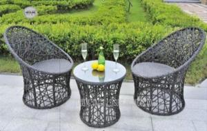 Quality Fashional All Weather Wicker Patio Furniture , Outdoor Patio Table And Chairs for sale