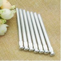 China Silver Color Iron Hinge Push Rivets Blind Rivet For Office Furniture on sale