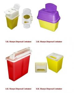 China T Series Disposable Surgical Sharps Container medical needle box on sale