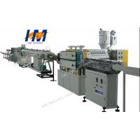 China PS Foaming standard extruded plastic sections frame board extrusion line on sale