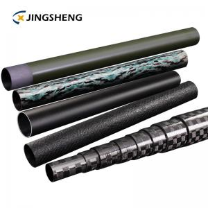 China Triangle 3k 12k Telescopic Carbon Fibre Tube on sale