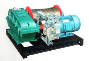 China YUANTAI JM Model Slow Speed Electric Winch 10 Ton With Wireless Remote Control on sale