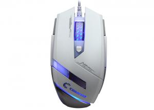 China Ergonomic Macro USB Gaming Mouse with led , adjustable dpi button on sale