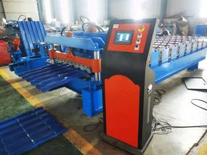 China Aluminum Roof Tile Roll Forming Machine Popular  In The Market on sale