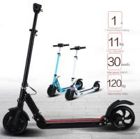 China 8'' Foldable Electric Scooter Portable Foldable Electric Kick Scooter For Adult on sale
