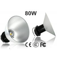 Industrial 80W LED High Bay Light For Hypermarket , Museum , Library 110-120LM/W