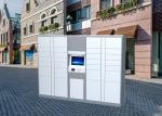 Multi Functional Electronic Package Locker , Automated Parcel Lockers With 15 Touch Screen