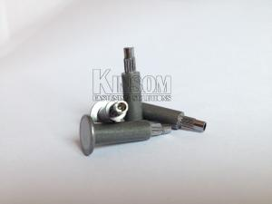China Special semi-tubular rivets flat head step knurling rivets on sale