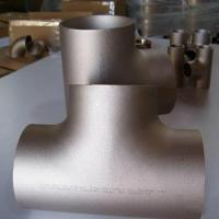 ERW Tee / Copper Nickel Butt Weld Fittings For Automotive JIS B 2311/2220