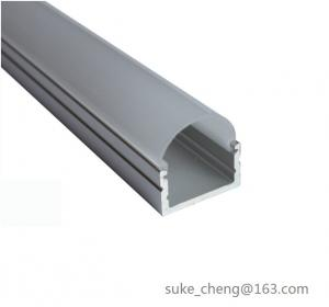 China Mounting Channel Alu Micro Led Flexible Strip Light Profiles Led Bar Aluminium Housing With Clear Lens Cover on sale