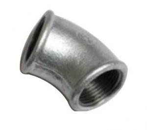 China Malleable iron pipe fitting elbow on sale